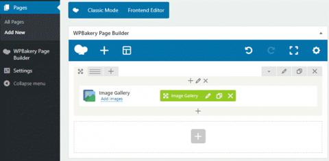 wpbakery wordpress sayfa düzenleme